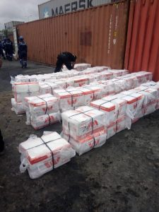 NDLEA seizes cocaine which worth over N32bn in Tincan Port, Lagos