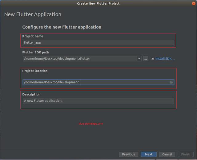 Configure Flutter Application