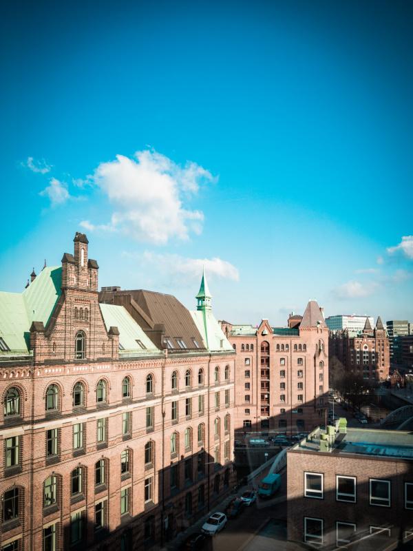 Speicherstadt Hamburg - Blick aus der Tchibo Coffee Academy | titatoni - Renate Bretzke
