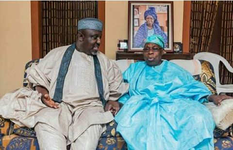 """Okorocha Adviced me to do, all the bad things i did as a President'- Obasanjo"