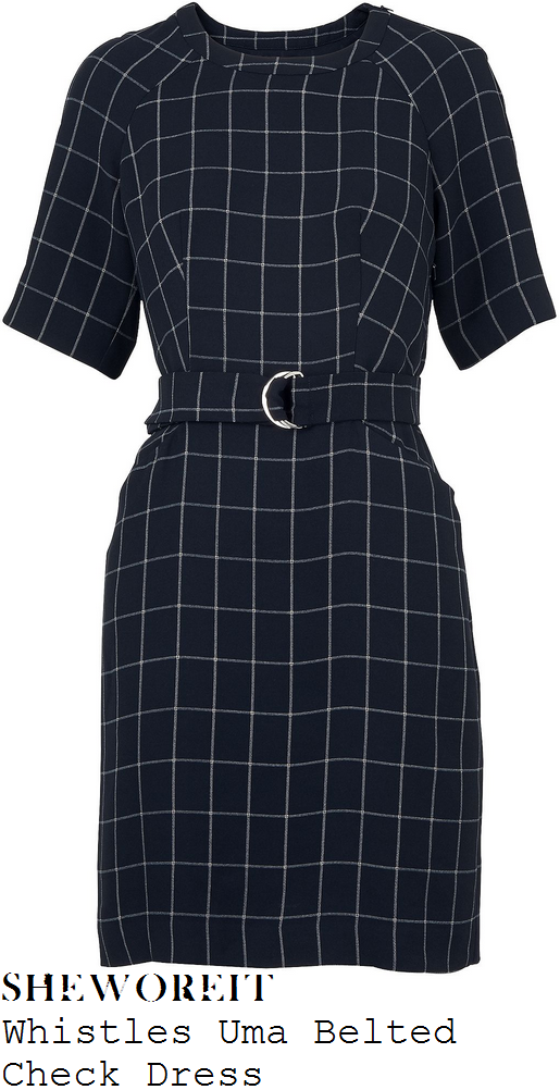http://www.houseoffraser.co.uk/Whistles+Uma+Belted+Check+Dress/D631012,default,pd.html