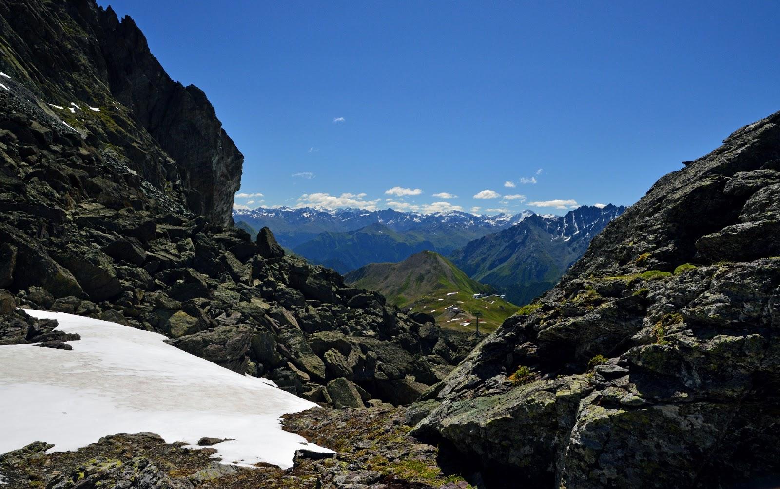 Alpy Tyrol Ischgl Samnaun