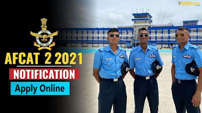 AFCAT 2 2021 Recruitment Notification Download