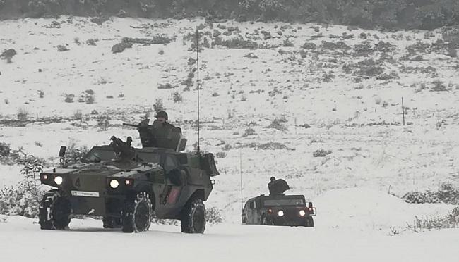 Ο Ελληνικός Στρατός ασκείται σε… πολικές συνθήκες φωτογραφίες