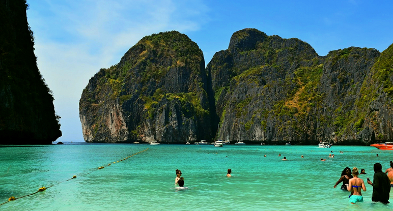 Maya Bay Beach Thailand