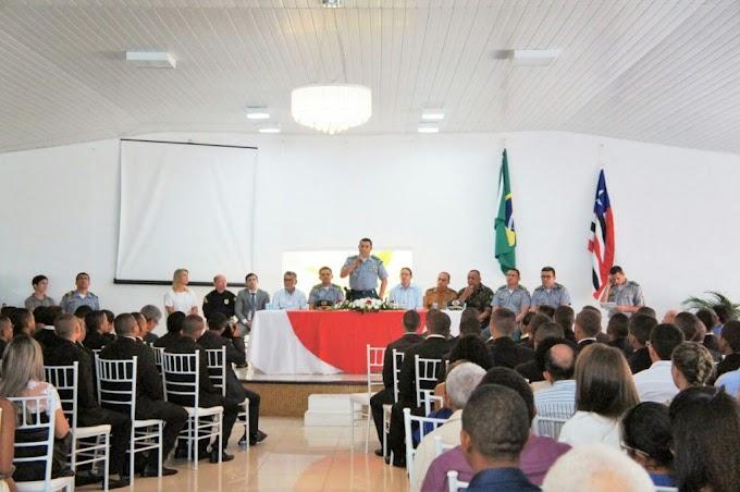 Prefeito Fábio Gentil prestigia aula inaugural do Curso de Formação de Soldados da Polícia Militar
