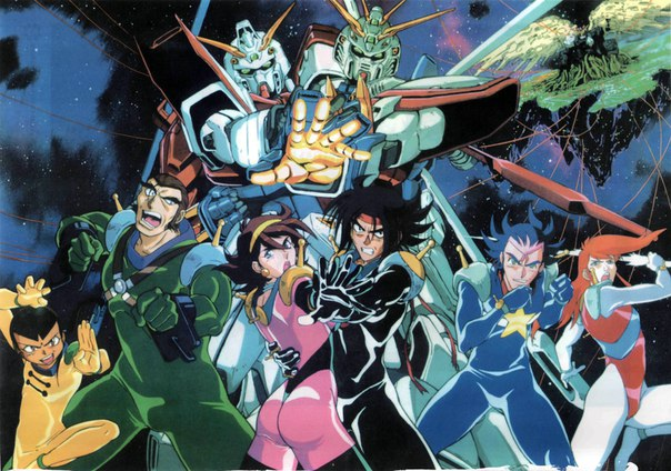 Mobile Fighter G Gundam Subtitle Indonesia