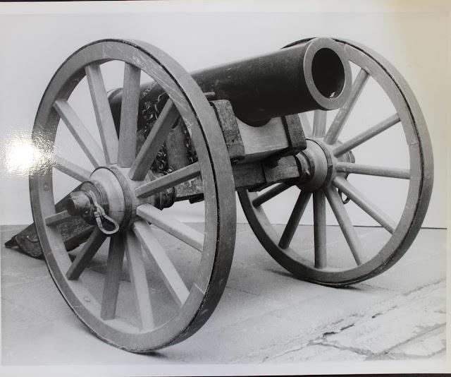 Los cañones del Museo Nacional de Historia. Castillo de Chapultepec, cuentan sus batallas. Foto: INAH.