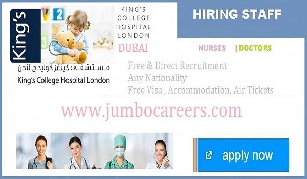 Kings College Hospital (London) Dubai Careers 2021