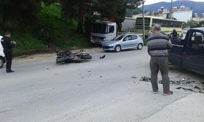 Σοβαρό τροχαίο ατύχημα πριν λίγο στην Ηγουμενίτσα (+ΦΩΤΟ)