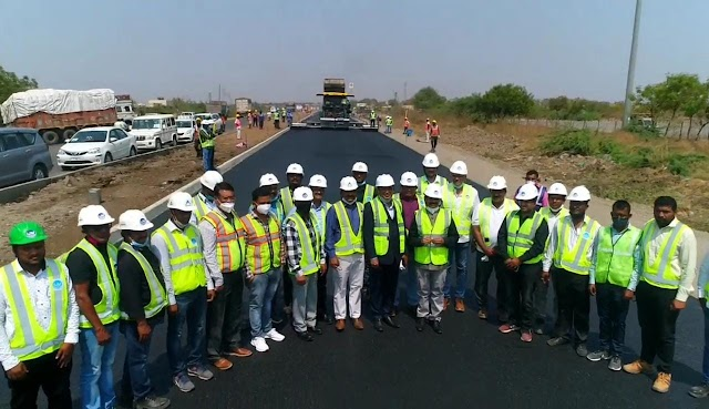National Highway Otharity of India, After covering 25 km in 18 hours, entered  Limca  Book of World Records