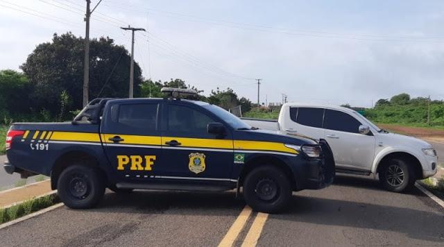 Homem é preso com carro de luxo roubado na BR 343 em Parnaíba/PI