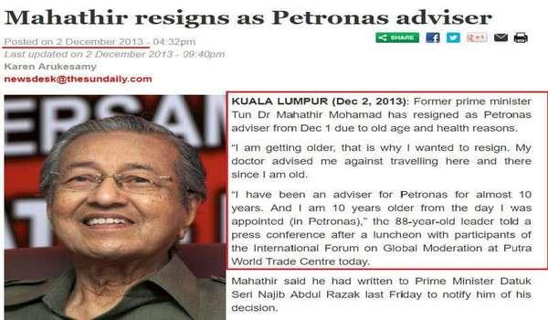 Isteri saya kawal segala program kerana tidak mahu saya terlalu penat - Mahathir