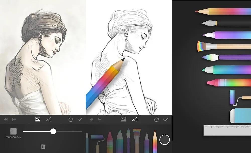 تطبيق رسم Papercolor