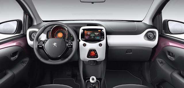 Interior del Peugeot 108, noticias de coches