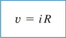 voltage current resistor equation