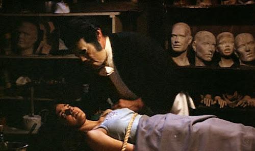 The harrowing basement scene, Tourist Trap (1979)