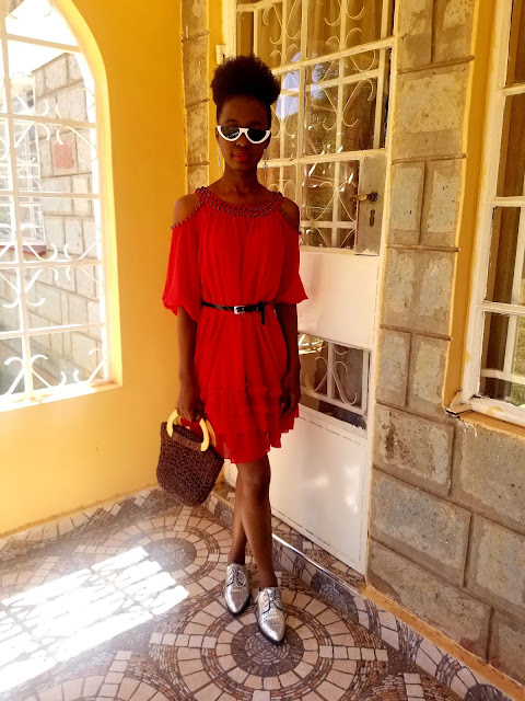 How To Wear A Cold Shoulder Dress On A Sunny Day