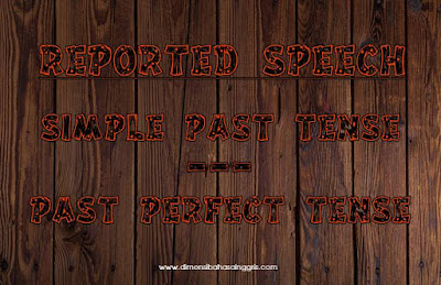 Penjelasan Reported Speech Simple Past Menjadi Past Perfect