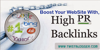 generate high pr do follow baclinks for better SEO