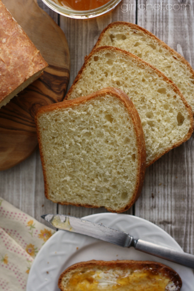 Water-Proofed Bread | www.girlichef.com