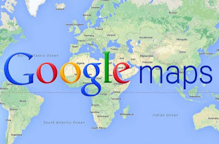 Google maps بدون أنترنت