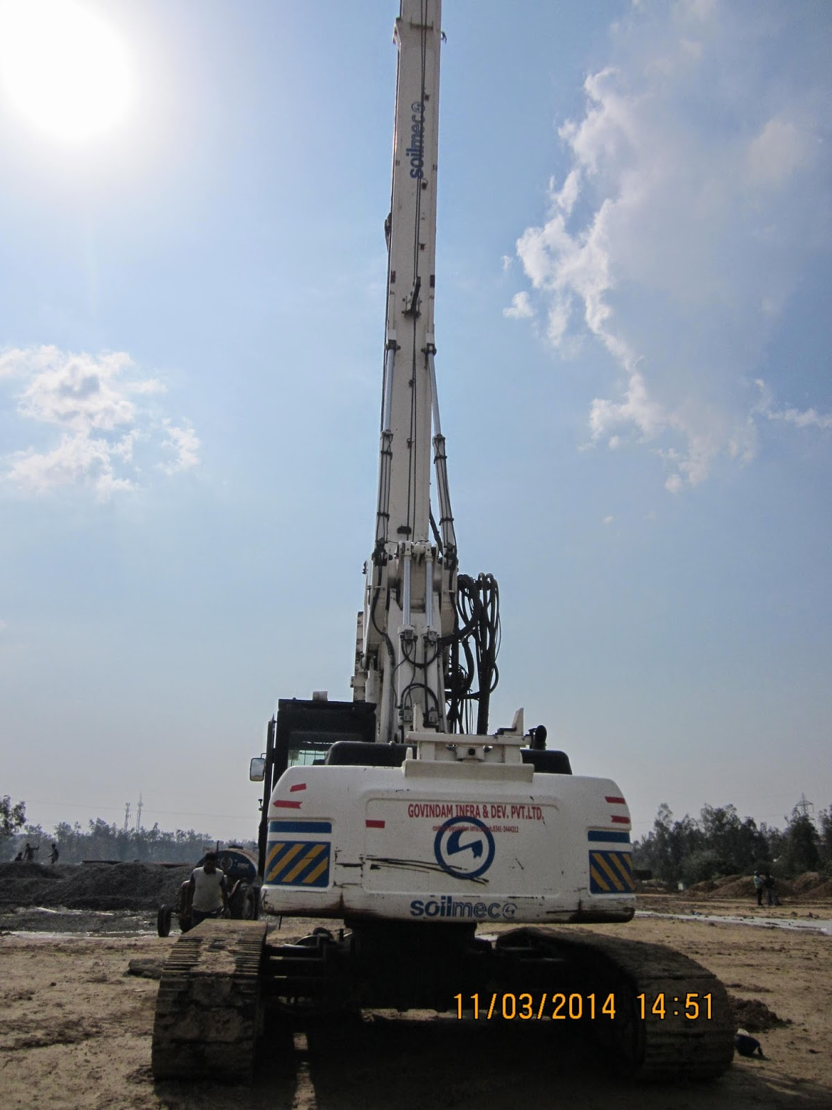 Used Piling Rig for Sale in Maharashtra: Used Hydraulic
