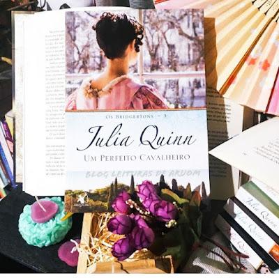 LIVRO: UM PERFEITO CAVALHEIRO -  JULIA QUINN - BRIGERTONS 3