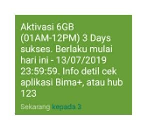 √ Cara Mengaktifkan Paket Internet Tri Kuota 12GB lengkap Pembagian Kuota 5