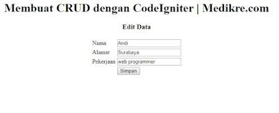 codeigniter