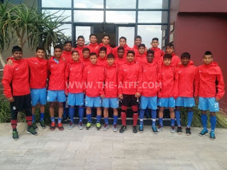 India U-16 South Africa Exposure Trip