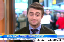 Daniel Radcliffe on Good Morning America