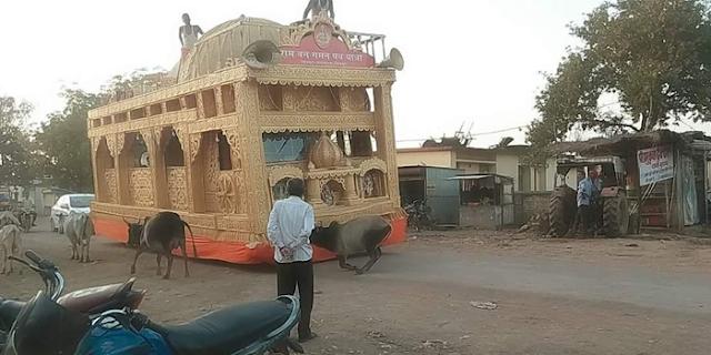 भाजपा ने थाने में बंद करा दिया था राम रथ, कोर्ट ने मुक्त कर दिया | DINDORI MP NEWS