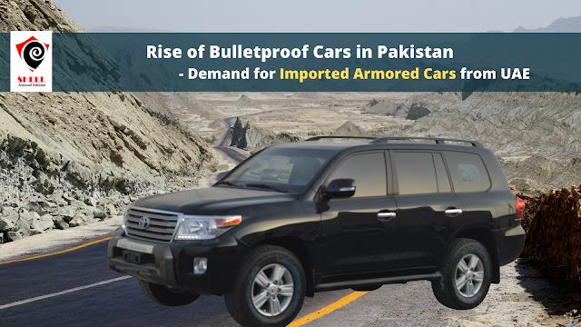Sale of Bulletproof Cars to Pakistan Armored Cars Pakistan