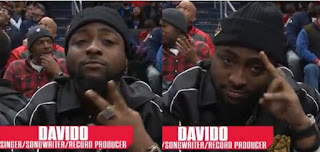 Washington DC basketball team appreciates Davido for showing up to watch their game (Video)