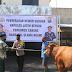 Kapolres Ngawi Salurkan Hewan Qurban Untuk Meringankan Beban Warga Terdampak Covid-19