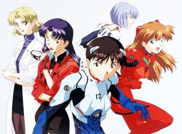 the pilots of neon genesis evangelion
