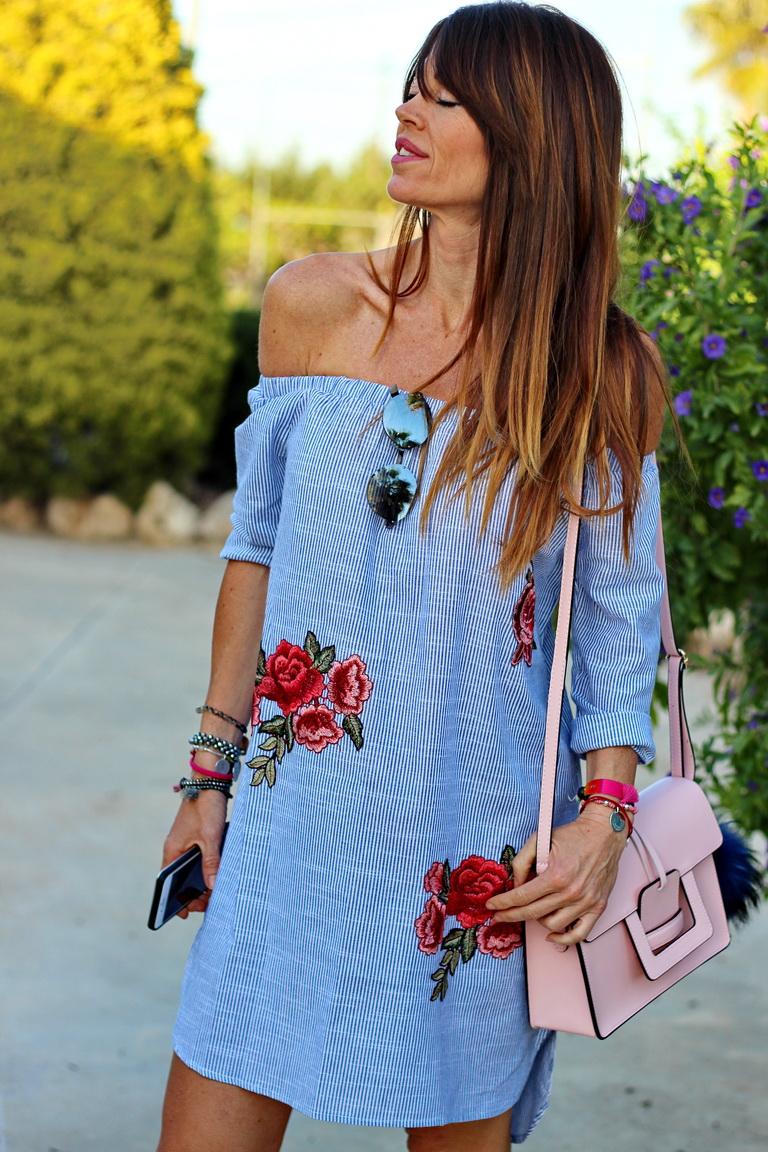 tendencias 2017, cuadros vichy, Maite L, compras en Guardamar, mariamainez, bbeautifulbymaria, calzados Sandra