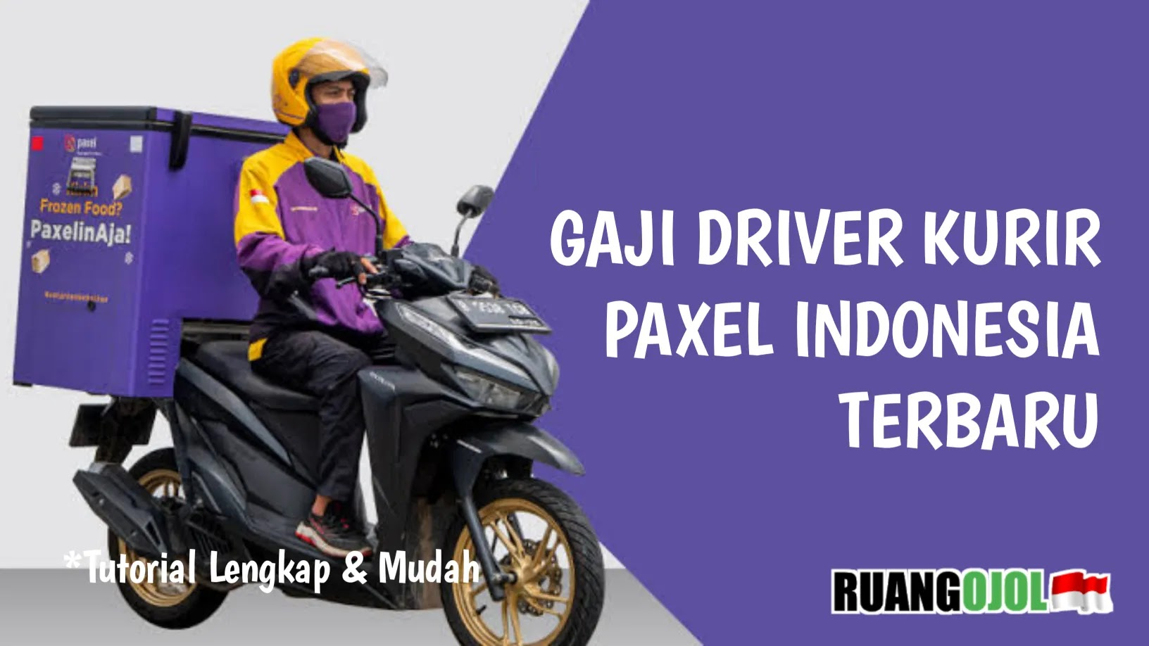 Gaji Driver Kurir Paxel Indonesia Terbaru