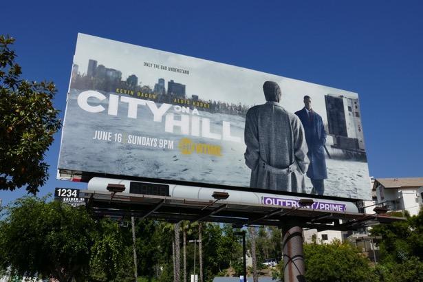 City on a Hill series premiere billboard