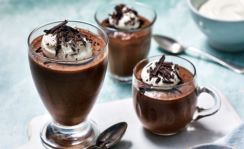 Classic chocolate mousse recipe