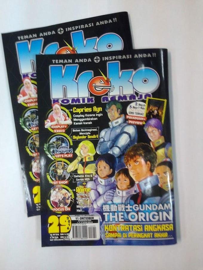 Ryn on Kreko magazine