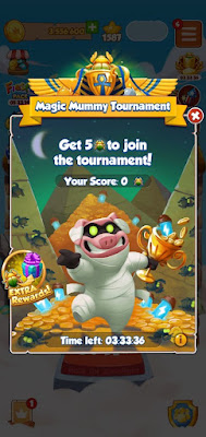 Magic Mummy Tournament.