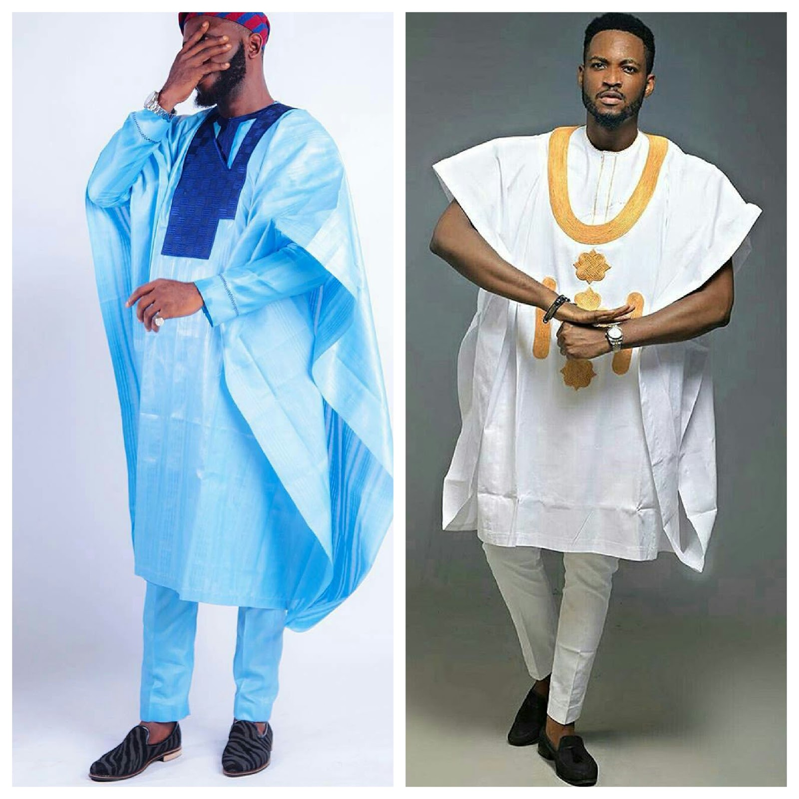 Awesome! Top 10 Male Agbada Styles And Designs