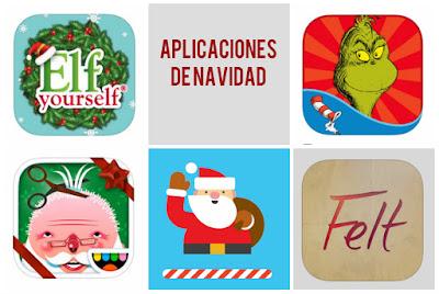 Aplicaciones de Navidad para niños infantil