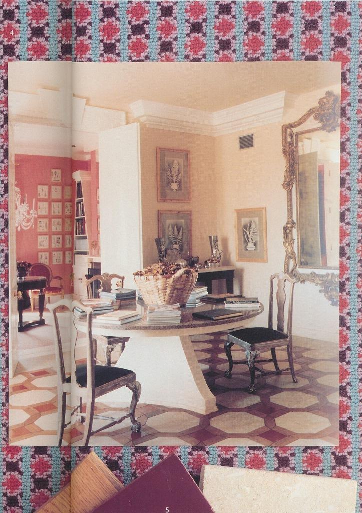 The Peak of Chic: Revisiting David Hicks Carpet