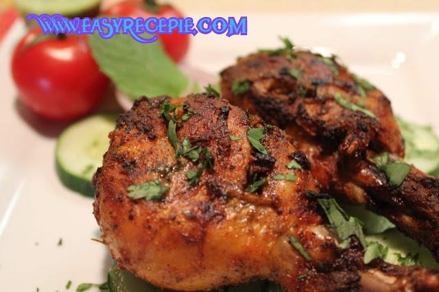 Homemade Microwave Tandoori Chicken Recipe