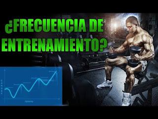 número de sesiones de entrenamiento realizadas en un período de tiempo dado, así como al número de veces que un grupo   muscular específico es entrenado durante un período de tiempo dado