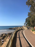 Picture of beachside walk