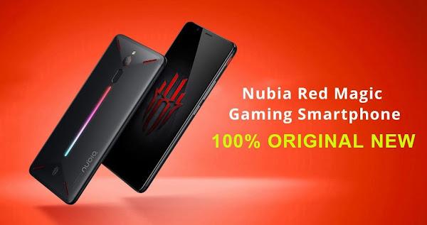 Nubia Red Magic NX609J Versão Global - Barato e poderoso - Armazém Europeu!